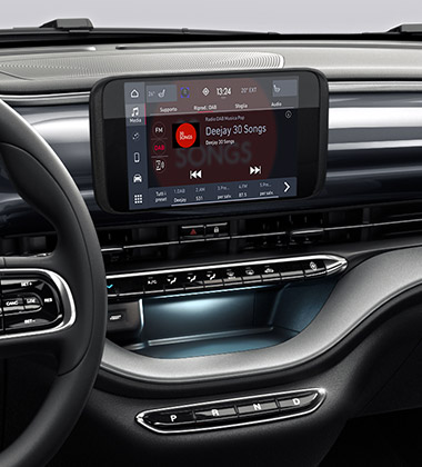 "7"" Uconnect 5 Infotainment-System"